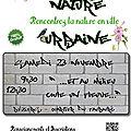 Nature urbaine, suivez le guide !