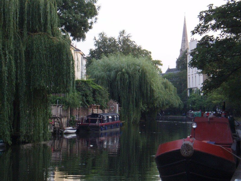 les bords du canal a camden
