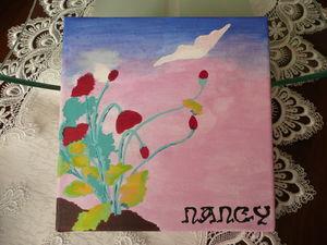 Vitrail Ecole de Nancy