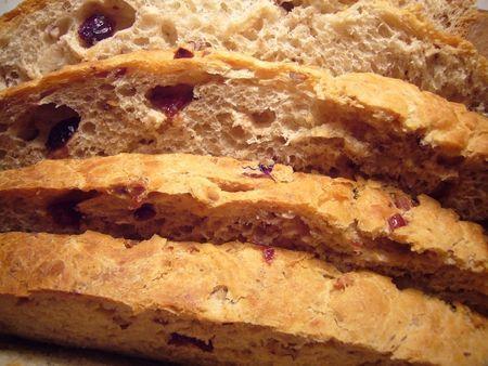 Cranberries pecan loaf