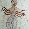 Alexandre Drôle d'insecte enfant