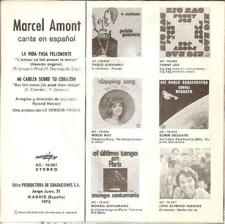 ESPAGNE ACCION AC 10 027 1973 02