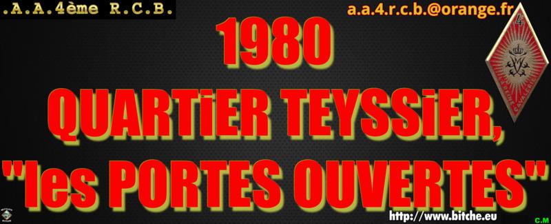1980 QUARTiER TEYSSiER les PORTES OUVERTES