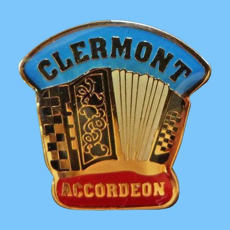 Accordéon Pin's Clermont