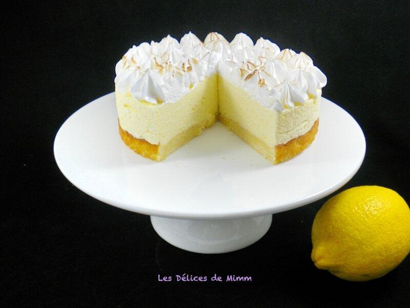Gâteau nuage au citron meringué 5