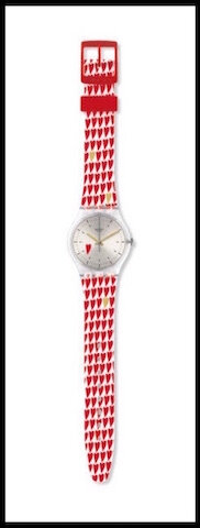 swatch montre hearty love 2