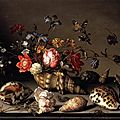Balthasar van der Ast, Still-Life of Flowers, Shells, and Insects, c. 1635