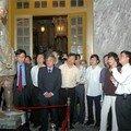 Inauguration des nouvelles salles au mausolée de khai dinh