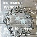 Boutique ephemere de noel