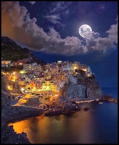 nuit pleine lune