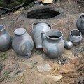 Les poteries enfumées