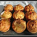 Muffins poivron, oignon et basilic...