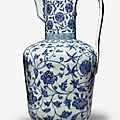 $3.1 million ming dynasty ewer leads day 2 of sotheby's asia week sale series in new york