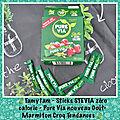 🍃 marmi'test : marmiton croq'tendances mon test stevia pure via nouveau goût 🍃