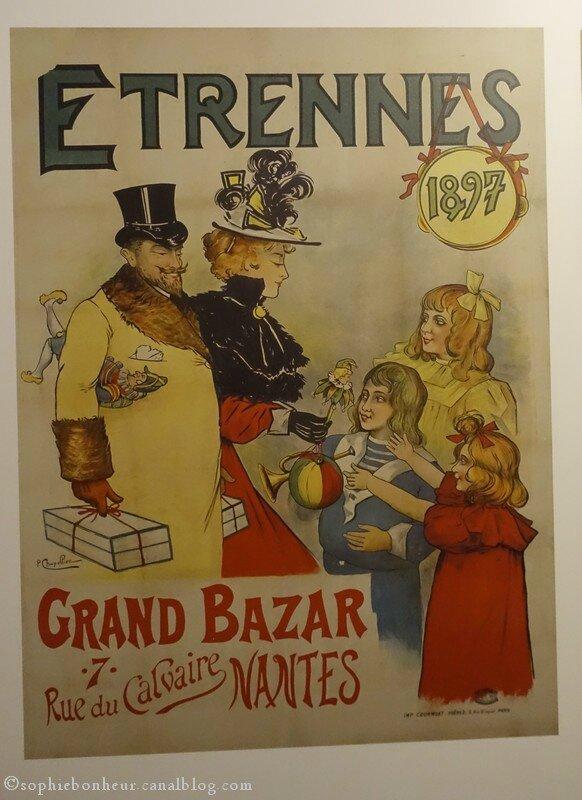 Souvent Les affiches anciennes à Nantes - Aux petits bonheurs de Sophie NQ71