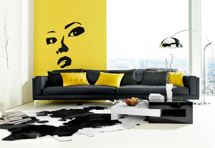 Osez le jaune stinside architecture d 39 int rieur for Decoration jaune