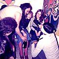 Roland, Liliane, Solange et Fifi (avril 1976)