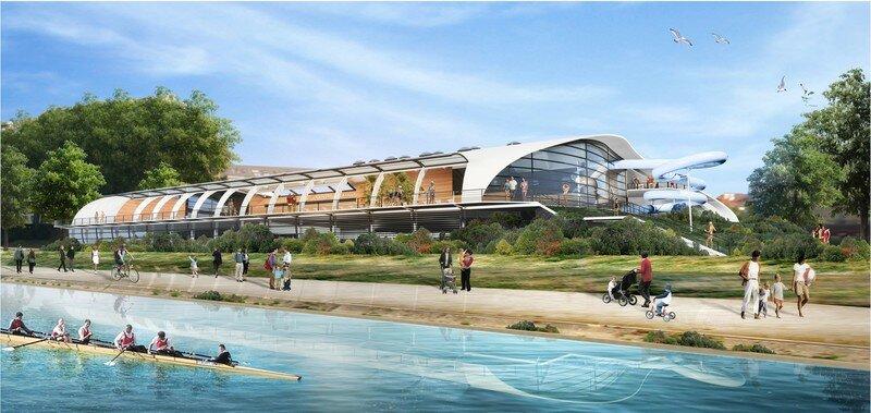 le nouveau centre aquatique d 39 alfortville alfortville