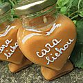 Cara lichou, une confiture de lait au caramel beurre salé pour un petit coeur de beurre...