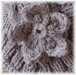 Fleur au tricot - Oxhydryle