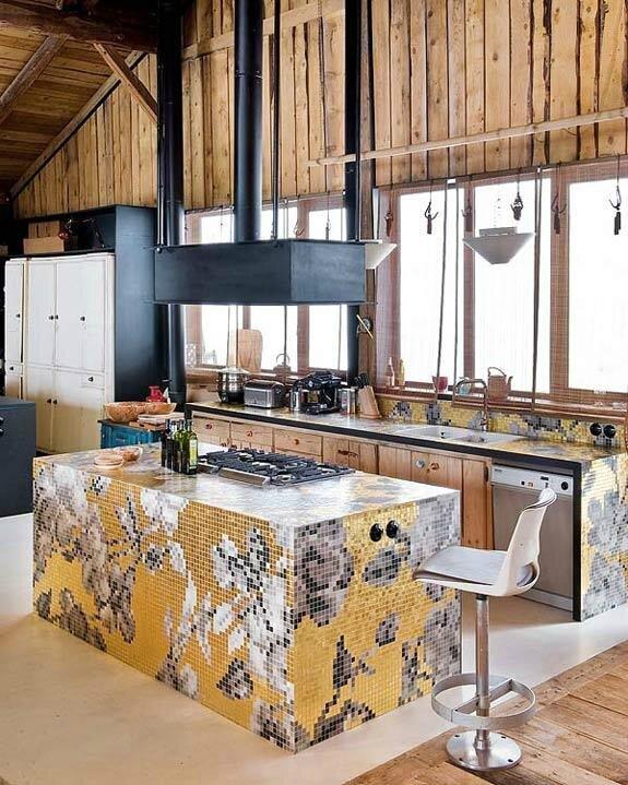 41884-cuisine-chalet-ilot-habille-d-une-mosaique
