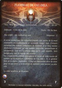Croque-Mort Cadwë 02 - Flambeaud e l'Au-dela (sort)