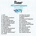 Recap du challenge photos de flow magazine..#flow29jours