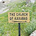 Eglise rupestre vallée de Göreme