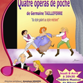 Prochain spectacle : quatre opras de poche