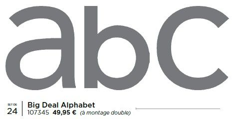 p68 big deal alphabet