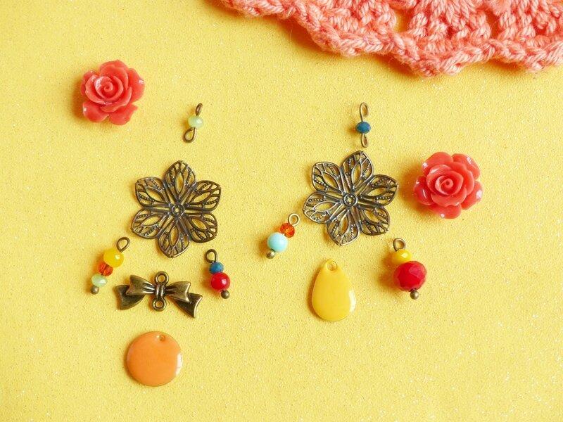 06-diy-bjijoux-boucles-oreilles-frida-kahlo-automne-bracelet-fleur-resine