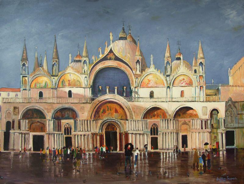 BASILIQUE ST MARC VENISE ITALIE...