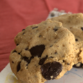 Cookies aux ppites de chocolat, sans bl