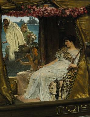 kleopatra und caesar bild