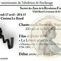 Hommage à rené levasseur : 17 avril 2014 cinéma le royal au mans.