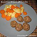 Boulettes de porc parfumées aux épices (à la vapeur)