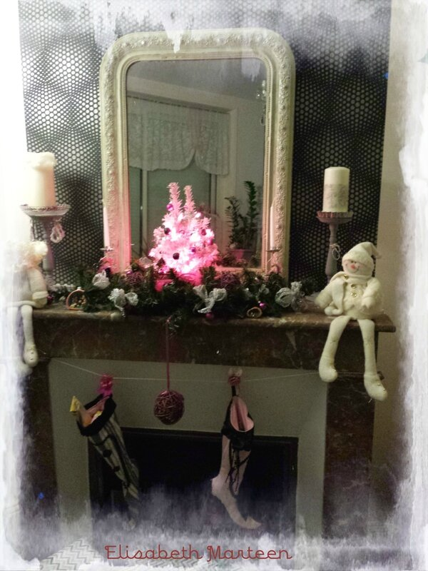Chemin e noel 2015 photo de d co et compagnie plaisir for Deco damidot et compagnie