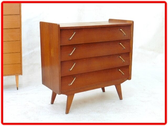 commode vintage annees 1960