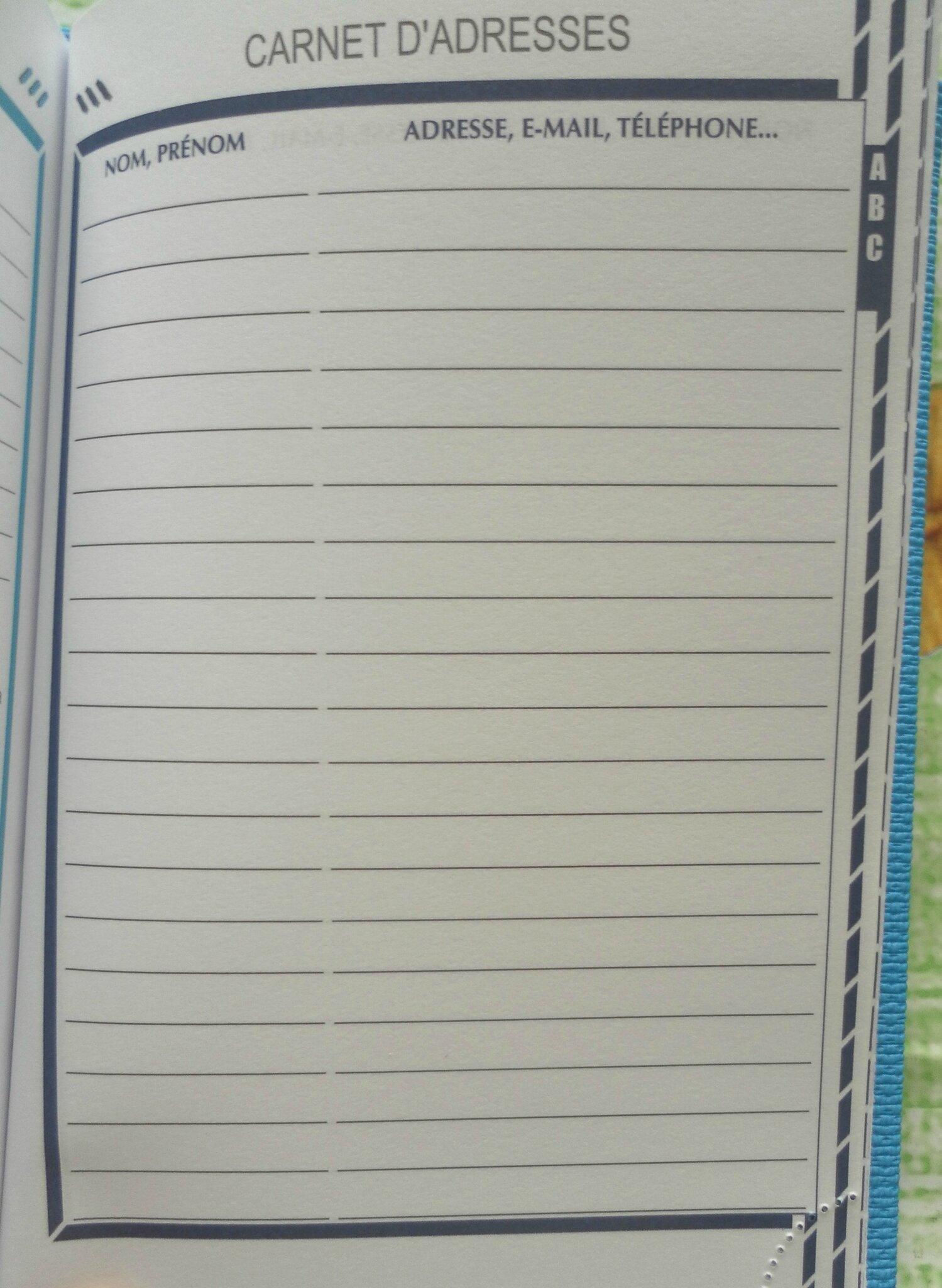 carnet de suivi assistante maternelle