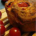 ..cake aux tomates cerises..