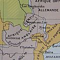 Afrique centrale anglaise - carte