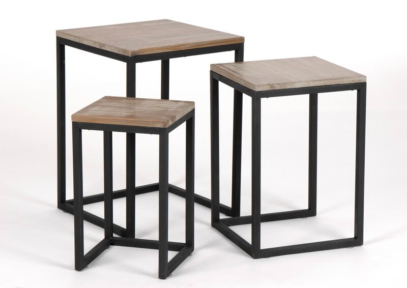 table gigogne bois pas cher. Black Bedroom Furniture Sets. Home Design Ideas