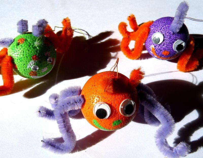 Tuto bricolage pour enfant halloween les bricoles de - Bricolage simple pour enfant ...