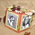 Cube porte photos