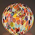 Lampes en verre artisanal de murano