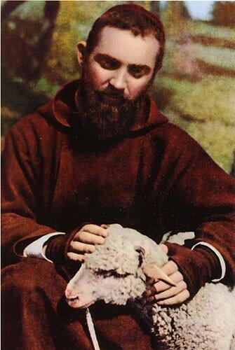 Saint Pio, le bon pasteur