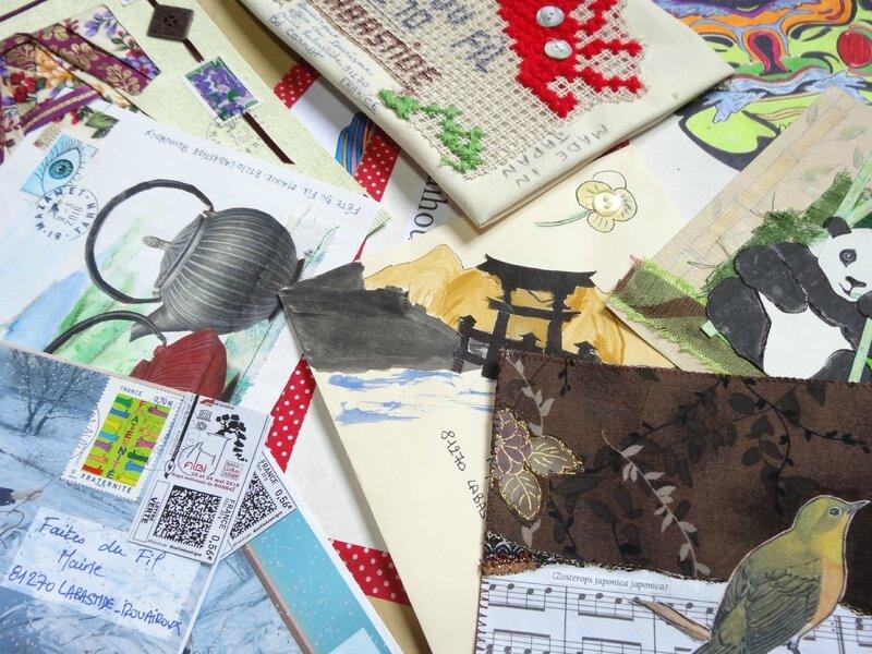 arrivage art postal
