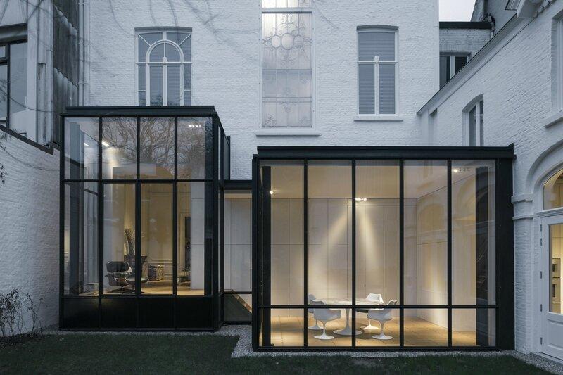 DecoBelge ARCHITECTURE Maison de Maître à GANT by Hans VERSTUYFT Architecten