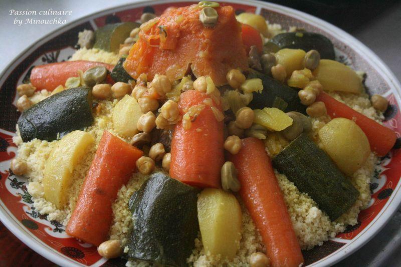 Couscous la marocaine par tapes et quelques astuces - Recette de cuisine algerienne traditionnelle ...