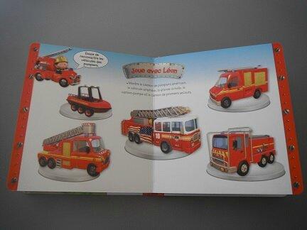 découvre les pompiers avec léon 4